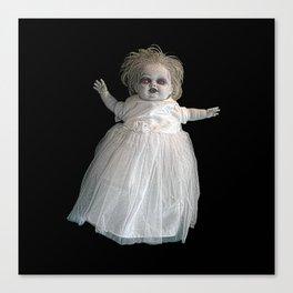 Zombie Doll. Canvas Print