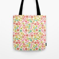 jungle Tote Bags featuring Jungle by Kristin Nohe Juchs
