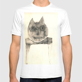 cat on the table T-shirt