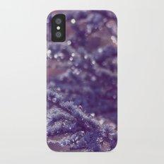 purple rain iPhone X Slim Case