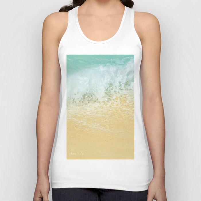 Kite Beach Ocean Splash Unisex Tank Top