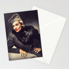 Carole Lombard, Vintage Actress Stationery Cards