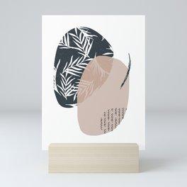 Tropical vibes II Mini Art Print