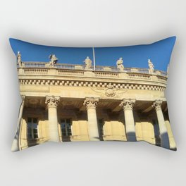 Grand théâtre de Bordeaux 8- The muses 2 Rectangular Pillow