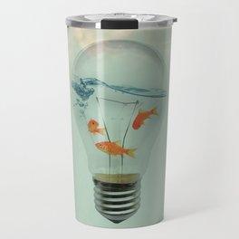 Ideas and Goldfish (RM) Travel Mug