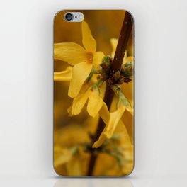 Bloomin' Yellow iPhone Skin