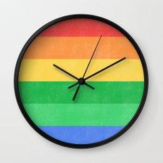 Break II Wall Clock
