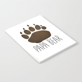 Papa Bear Notebook