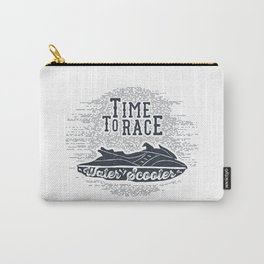 Time To Race. Water Scooter Carry-All Pouch