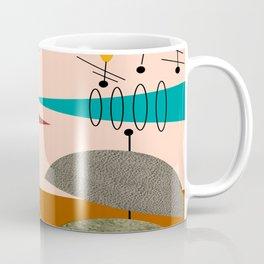 Mid-Century  Modern Space Age Coffee Mug