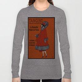 Tangent Red  Long Sleeve T-shirt
