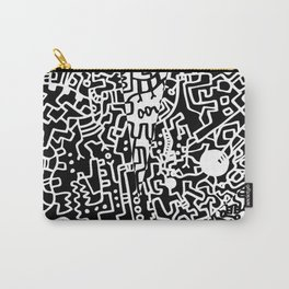 Cell Pattern Carry-All Pouch
