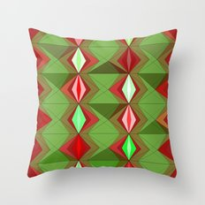 Waterbomb Holiday Colors Throw Pillow