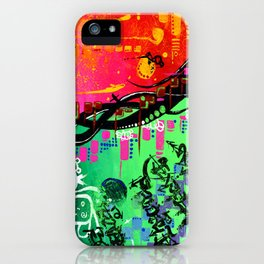 """ACTION EXPRESSES PRIORITIES"" iPhone Case"