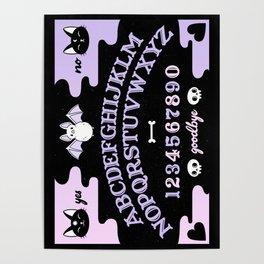 Cute Ouija // Pastel Poster