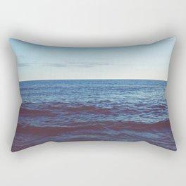 Out On The Horizon Rectangular Pillow