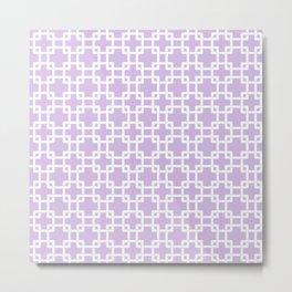 Lilac Plummer Metal Print