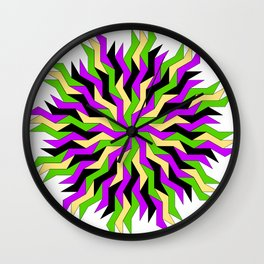 Lightning Wheel Wall Clock