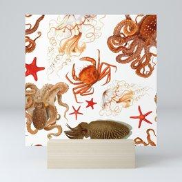 Color Marine Pattern 08 Mini Art Print