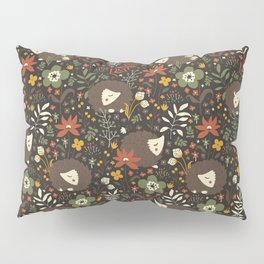 Cute Hedgehogs Pillow Sham