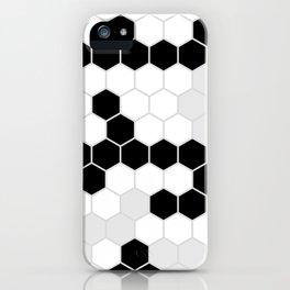 Honeycomb Pattern | Black and White Design | Minimalism iPhone Case