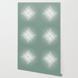 White Tulle Wallpaper
