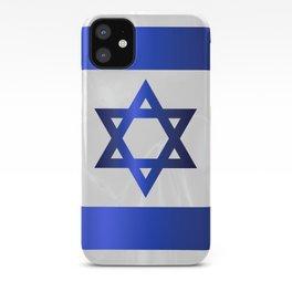 Israel Star Of David Flag iPhone Case