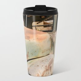 Antique Truck in Desert Travel Mug