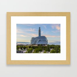 Canadian Museum for Human Rights Framed Art Print