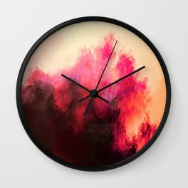 Painted Clouds II Wall Clock