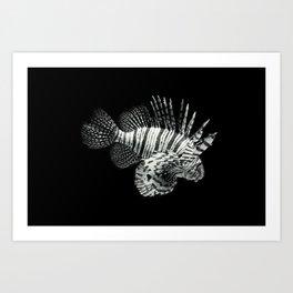 Lionfish Art Print