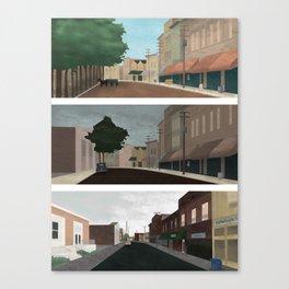 Progressive City Series Canvas Print