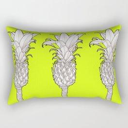 Pineapple - Ananas Arising tikigreen Rectangular Pillow