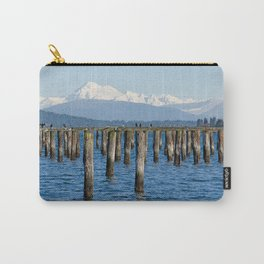 MOUNT BAKER KOMA KULSHAN AND OLD PILINGS  Carry-All Pouch