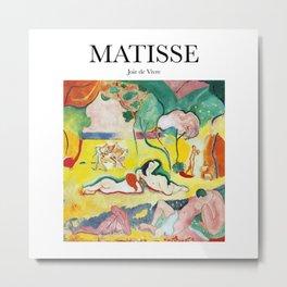 Matisse - Joie de Vivre Metal Print
