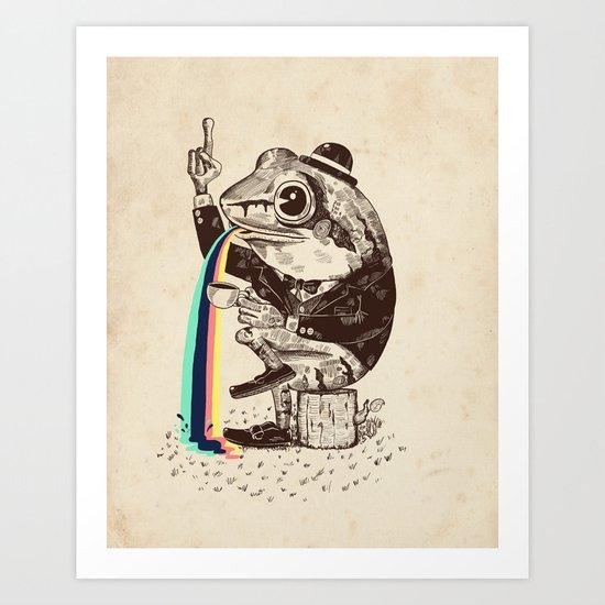 Strange Frog Art Print