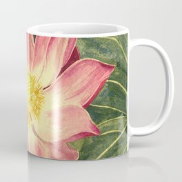 Big Lotus Watercolor Coffee Mug