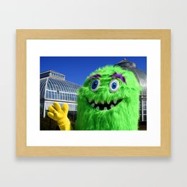 Imagine Seeing You Here Framed Art Print