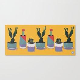 potted pals Canvas Print