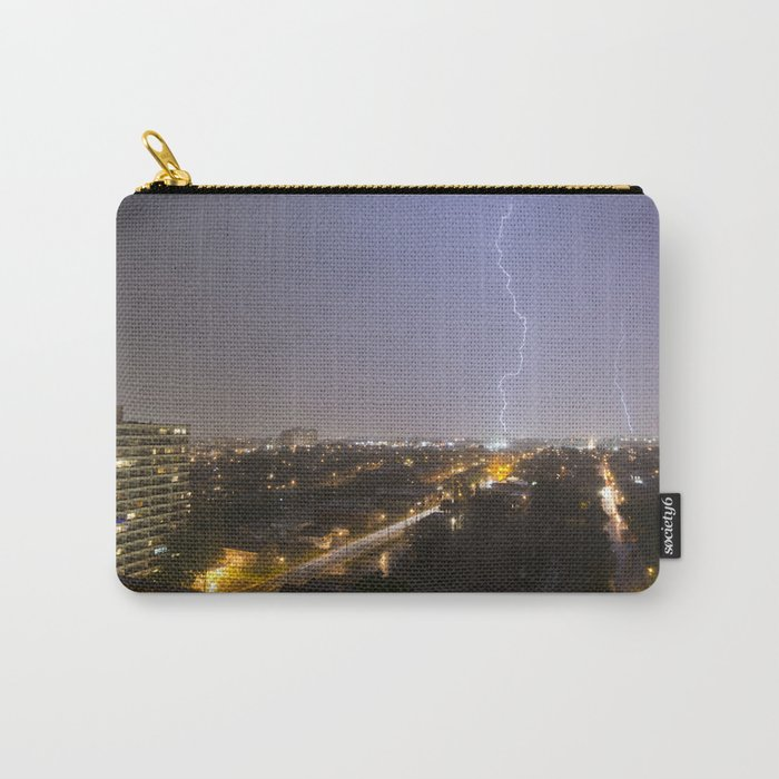 City Lightning. Carry-All Pouch
