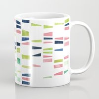 dna Mugs featuring DNA by insemar