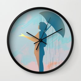 Is it really raining? Wall Clock