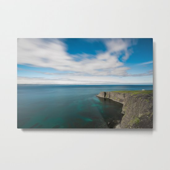 House by the Sea Metal Print