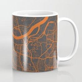 Brisbane Map Coffee Mug