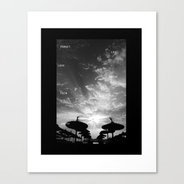 Sky  Explosion Canvas Print