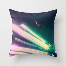The Humming Dragonfly Throw Pillow