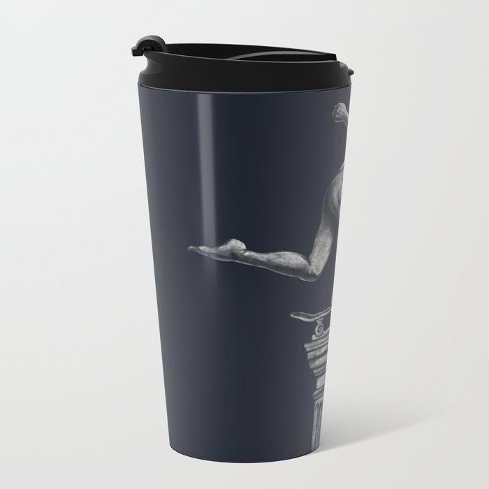 The Skater Metal Travel Mug