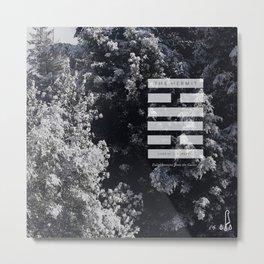 The Hermit Hex Metal Print