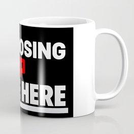 I'm loosing xp Coffee Mug