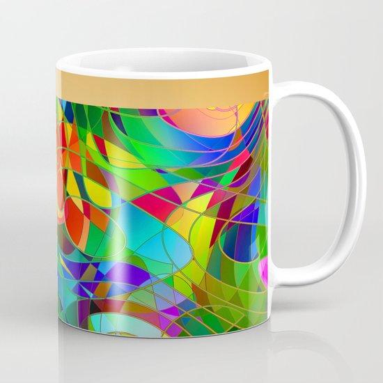 Bouquet Abstract Mug